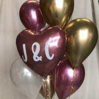 Detalles con globos personalizados
