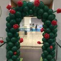 Arco de globos Sant Jordi