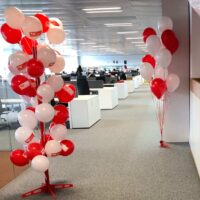Expositor para globos personalizados