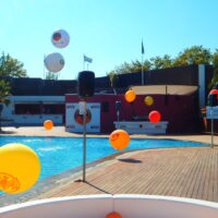 Globos gigantes imppresos de helio para fiestas