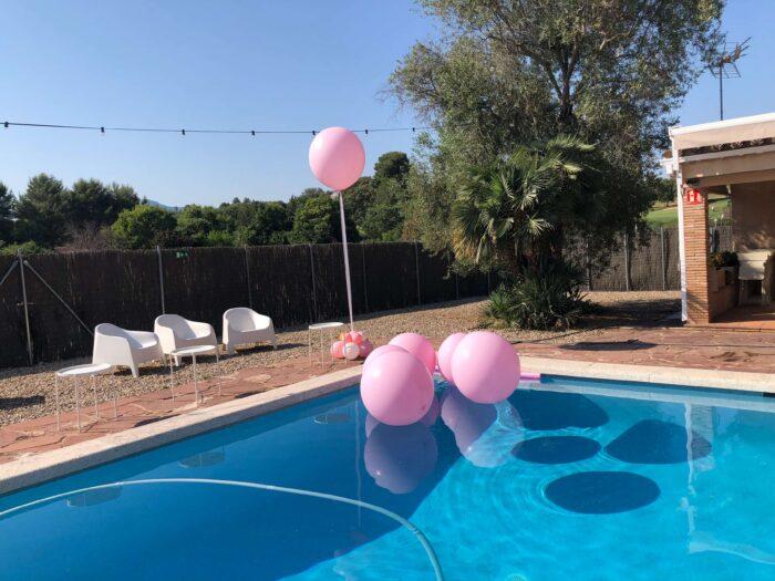 Globos gigantes para piscina